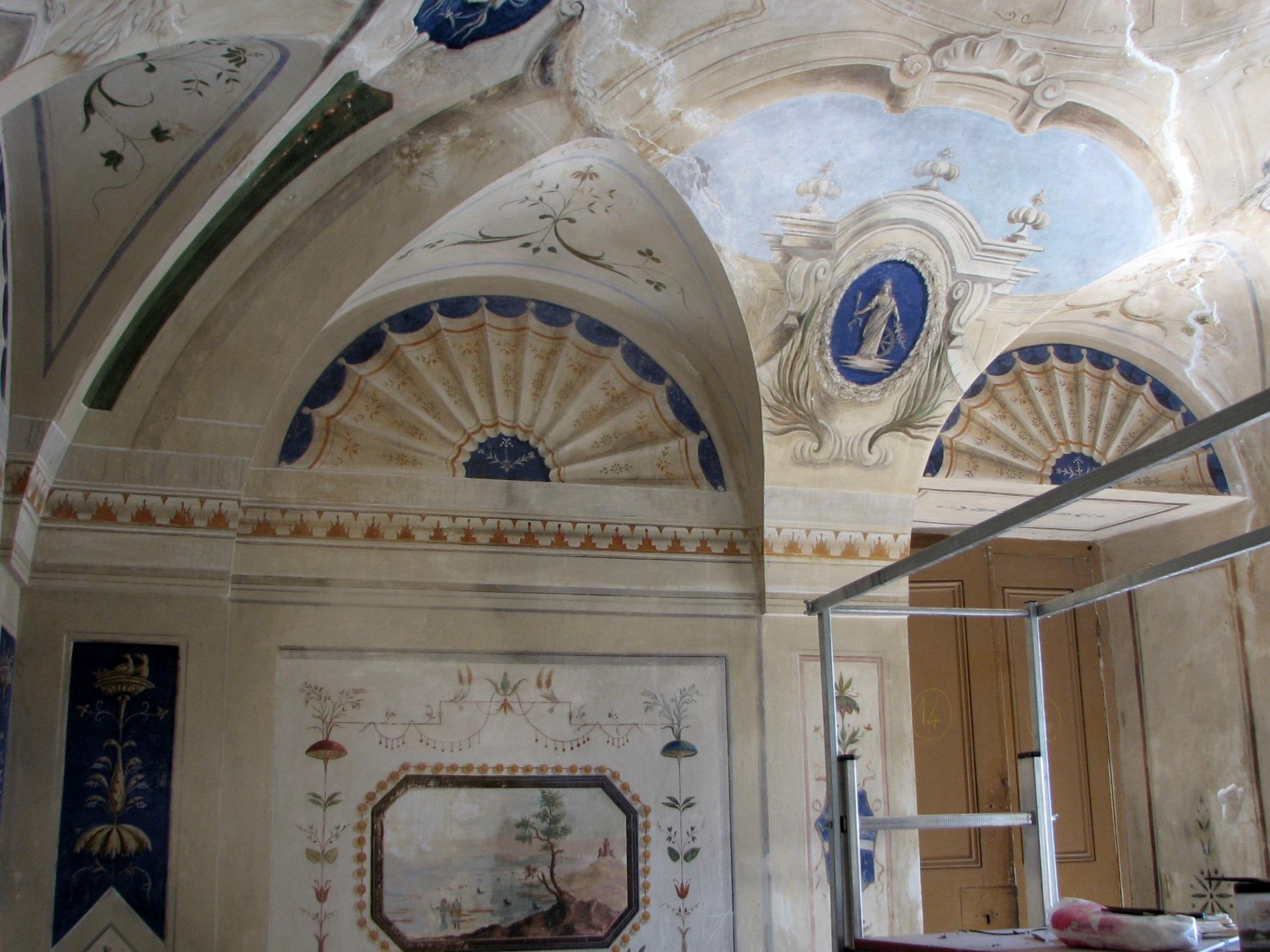 Dipinti Murali Per Camerette restauro di affreschi e dipinti murali - chiara lanari