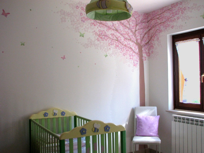 """alt=""""stencil muro cameretta"""""""