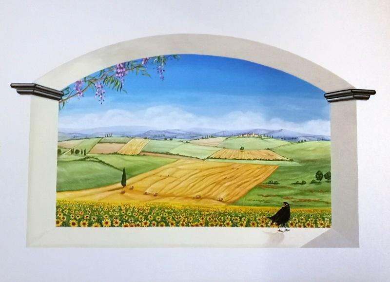 trompe-l'oeil Estate in Umbria di Chiara Lanari